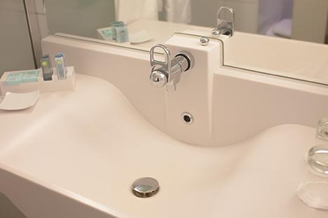 洗面所での水漏れ・故障